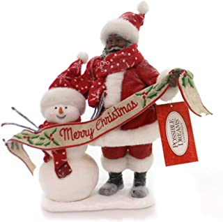 """Department 56 Possible Dreams Santa Claus """"In The Meadow AA"""" Clothtique Figurine, 10.5"""