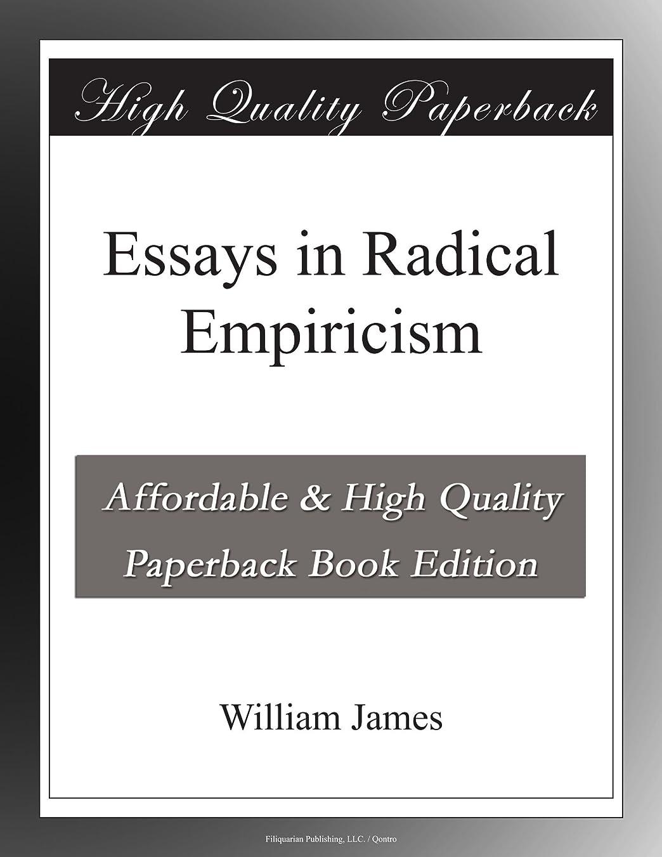 次でも下に向けますEssays in Radical Empiricism