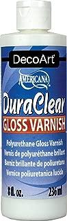 DecoArt DS19-9 American DuraClear Varnishes, 8-Ounce, DuraClear Gloss Varnish