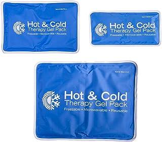 Roscoe - Bolsa de hielo reutilizable para rodillas, hombros