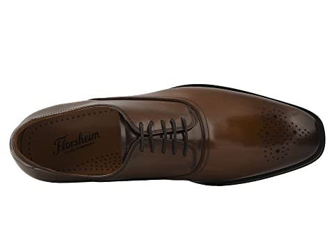 Smooth Oxford SmoothGrey Belfast Perf Cognac Toe Florsheim Brown Black Za8RqnU