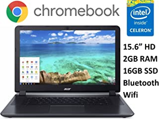 Acer CB3-531 15.6 Premium Chromebook PC (2016), Intel Celeron Dual-Core Processor, 2GB Memory, 16GB SSD, Bluetooth 4.0, Wifi, HDMI, Chrome OS