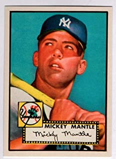 mickey mantle rookie card reprint