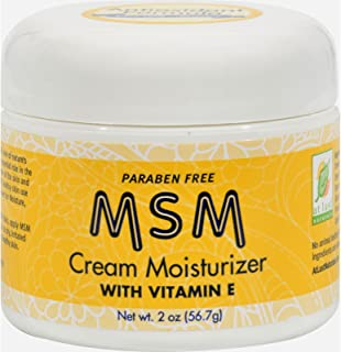 At Last Naturals MSM Cream Moisturizer with Vitamin E - 2 oz