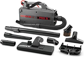 ORECK COMMERCIAL XL Pro 5 Super Compact Canister Bagged Vacuum Cleaner with Attachments, Lightweight Carriable Portable Pr...