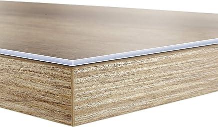 Sous-main bureau casa pura® transparent PVC   protection meuble, table, nappe épaisse   2 tailles   Neo - 50x100cm