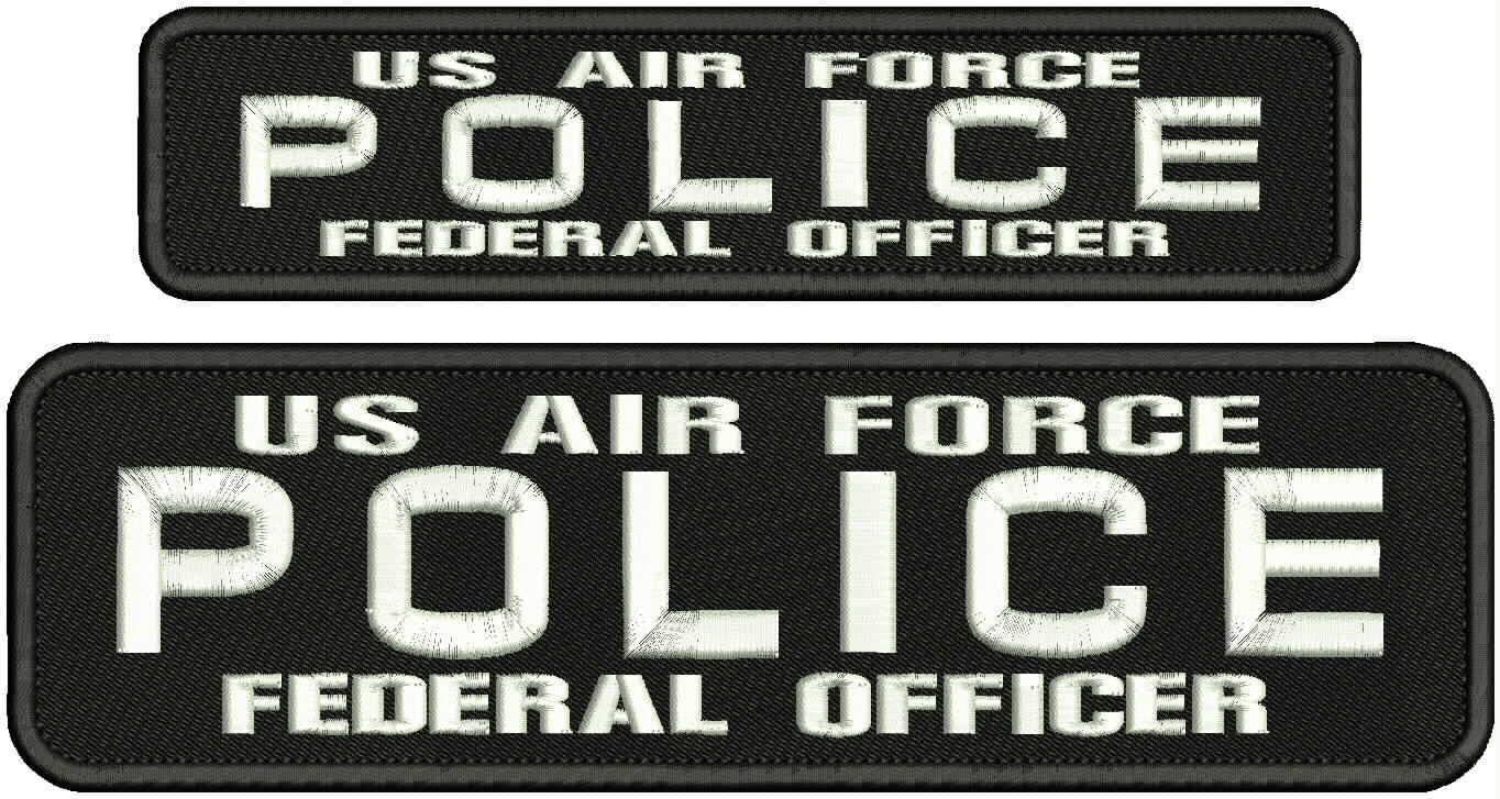 Embroidered Patch - New Orleans Mall Patches for Women Police AIR Fed US FO Man Popular