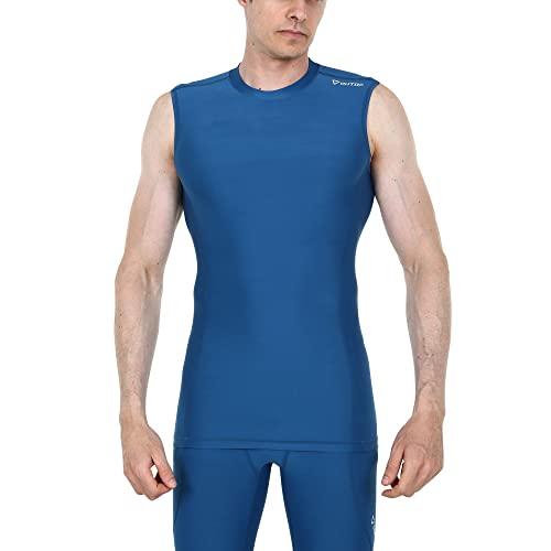 d29dcb3b90b5f0 OUTOF Men s Muscle Tank Sleeveless T-Shirts Baselayer Cool Dry Compression  Top Running Yoga Rashguard