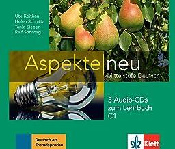 Aspekte neu C1: Mittelstufe Deutsch. 3 Audio-CDs zum Lehrbuch