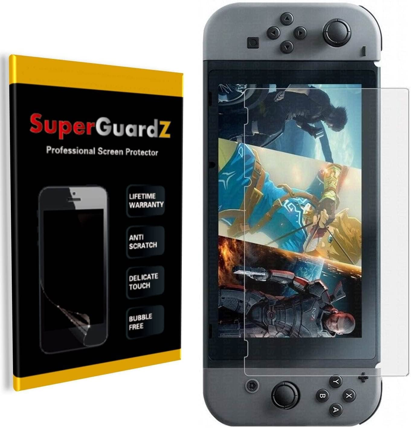 3-Pack For Nintendo Switch Luxury goods - SuperGuardZ Screen Ant Protector Mesa Mall