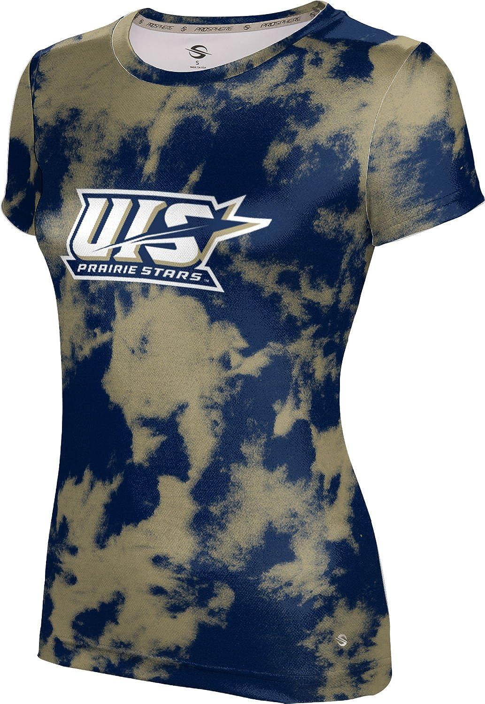 University of Illinois Springfield Girls' Performance T-Shirt (Grunge)