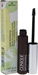 Clinique Just Browsing Brush-on Styling Mousse, Light Brown, 0.07 Ounce