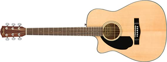 Fender CC-60SCE Concert Acoustic Guitar- Left-Handed