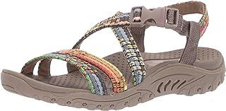 Skechers REGGAE - SEW ME - Boho Woven Strappy Slingback womens Sandal
