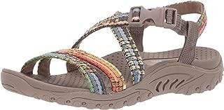 Skechers Women's Reggae-Sew Me-Boho Woven Strappy Slingback Sandal