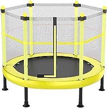 HMBB Kindertrampoline voor kinderen met veiligheidsbehuizing, indoor of outdoor oefening fitness trampoline, ouder-kind en...