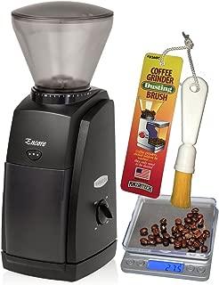 Baratza Encore Conical Burr Coffee Grinder, CoastLine Digital Kitchen Scale, and Coffee Grinder Brush