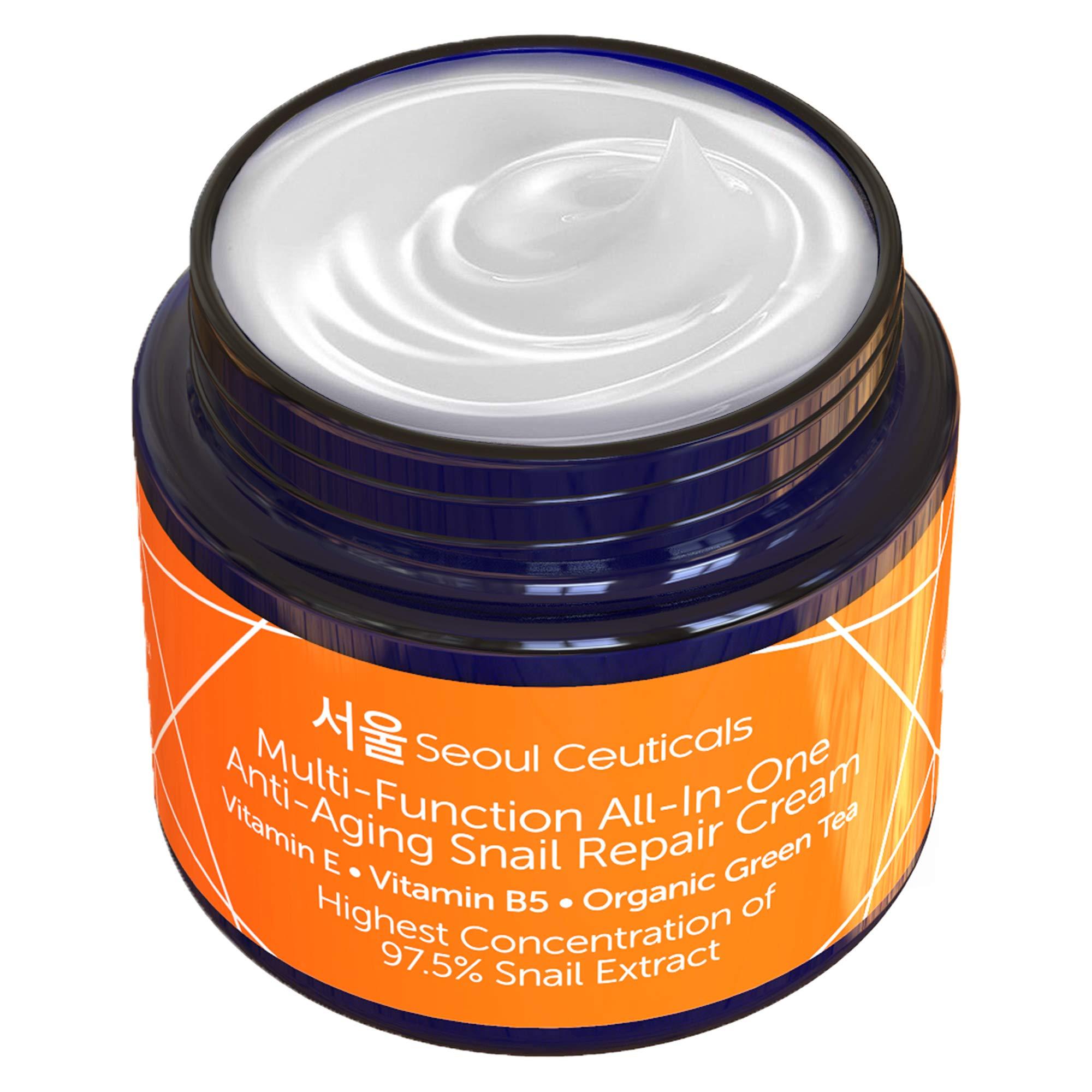 Korean Snail Repair Cream Moisturizer