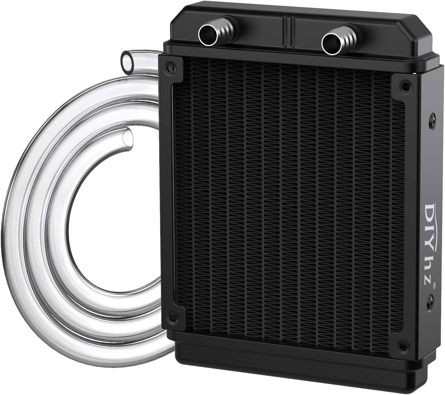 DIYhz Water Cooling Computer In a popularity Radiator Exc Credence Aluminum Pipe 12 Heat