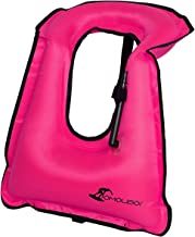 OMOUBOI Snorkel Vest Inflatable Snorkeling Vest for Men Women Large Snorkeling Life Vest