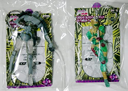 JoJo's Bizarre Adventure Stand Collection Figure Keychaîne vol1 argent bicycle Oetz hang orhomme two