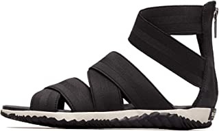 Sorel - Women's Out N About Plus Strap Sandals with Zipper