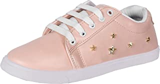 2ROW Women's Star Studded Pink Sneakers