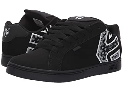 etnies Fader x Metal Mulisha (Black/White/Black) Men