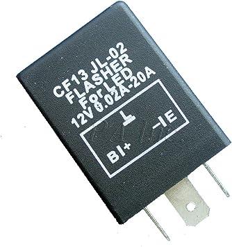 PA 1 set 3PIN Car LED Flash Blinker Relay Signal Light ERROR free Fix Kit CF13 EP34 PART