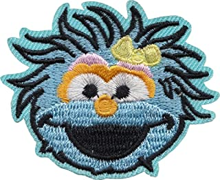 Sesame Street - Rosita Face - Embroidered Iron on Patch