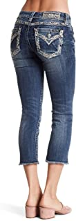 Women's Signature Embellished Cropped Jeans