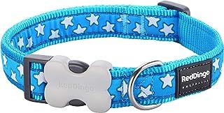 Red Dingo Collier pour chien Bleu/étoiles blanches