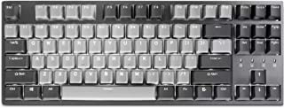 Durgod Taurus K320 TKL Mechanical Gaming Keyboard - 87 Keys - Double Shot PBT - NKRO - USB Type C (Cherry Silent Red, Coro...