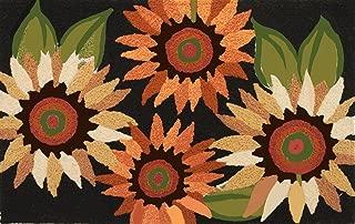 Autumn Sunflower Field Doormat-JellyBean Rug