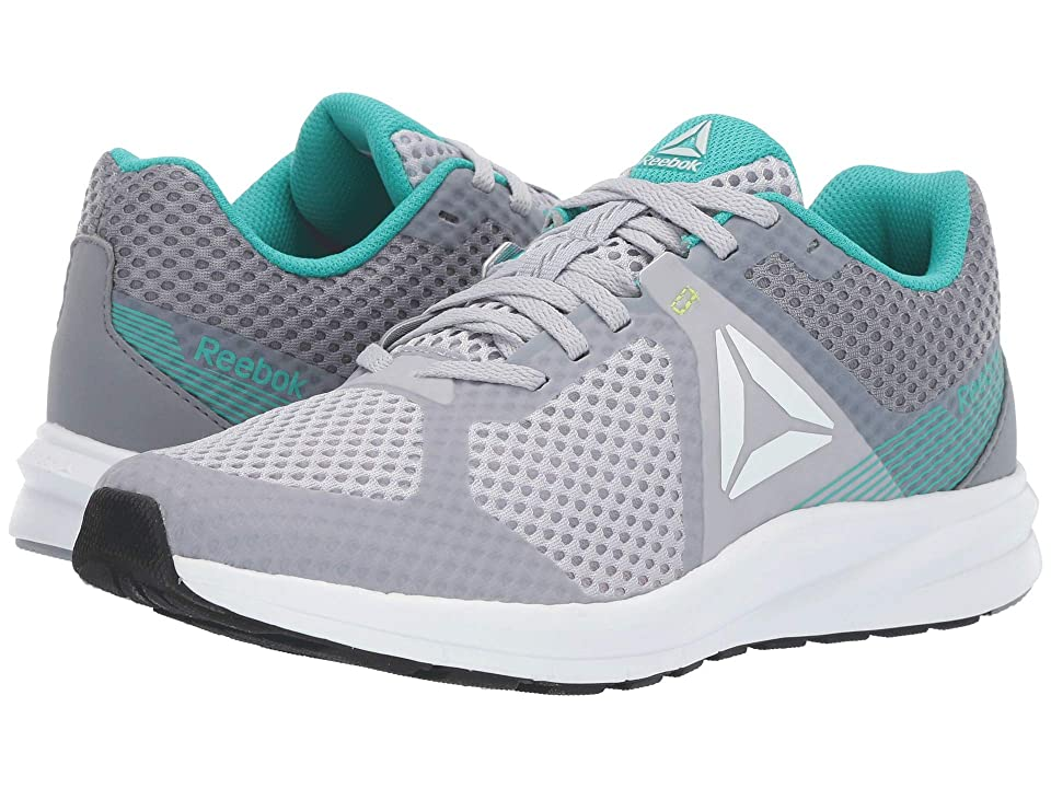 Reebok Endless Road (Cold Grey 2R/Cold Grey 4R/Solid Teal/White/Black/Neon Lime) Women