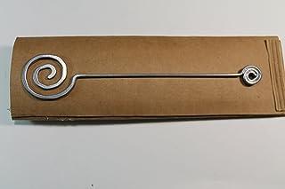 Segnalibro Orbita Argento,interamente realizzato a mano in alluminio e corredato di custodia in cartoncino,anch'essa reali...
