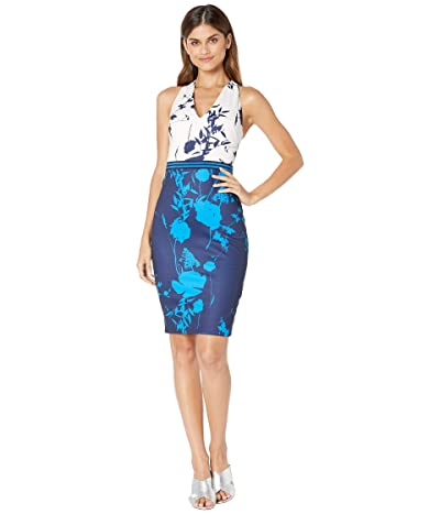 Ted Baker Tilliai Bluebell Bodycon Dress (Dark Blue) Women