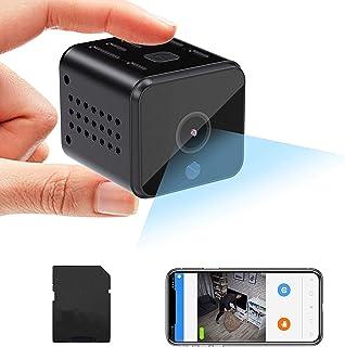 WiFi Mini Camera Spy Camera with APP, Wireless Hidden Camera HD 1080P Security Camera USB Camera Indoor/Outdoor, View Vide...