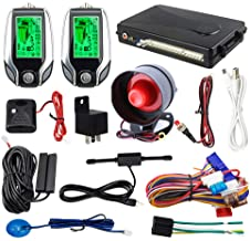 EASYGUARD EC204 2 Way car Alarm System with PKE Passive keyless Entry, Rechargeable LCD Pager Display & Remote Trunk Relea... photo