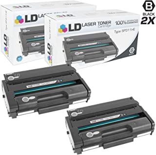 LD Compatible Toner Cartridge Replacement for Ricoh 407245 SP311HE High Yield (Black, 2-Pack)