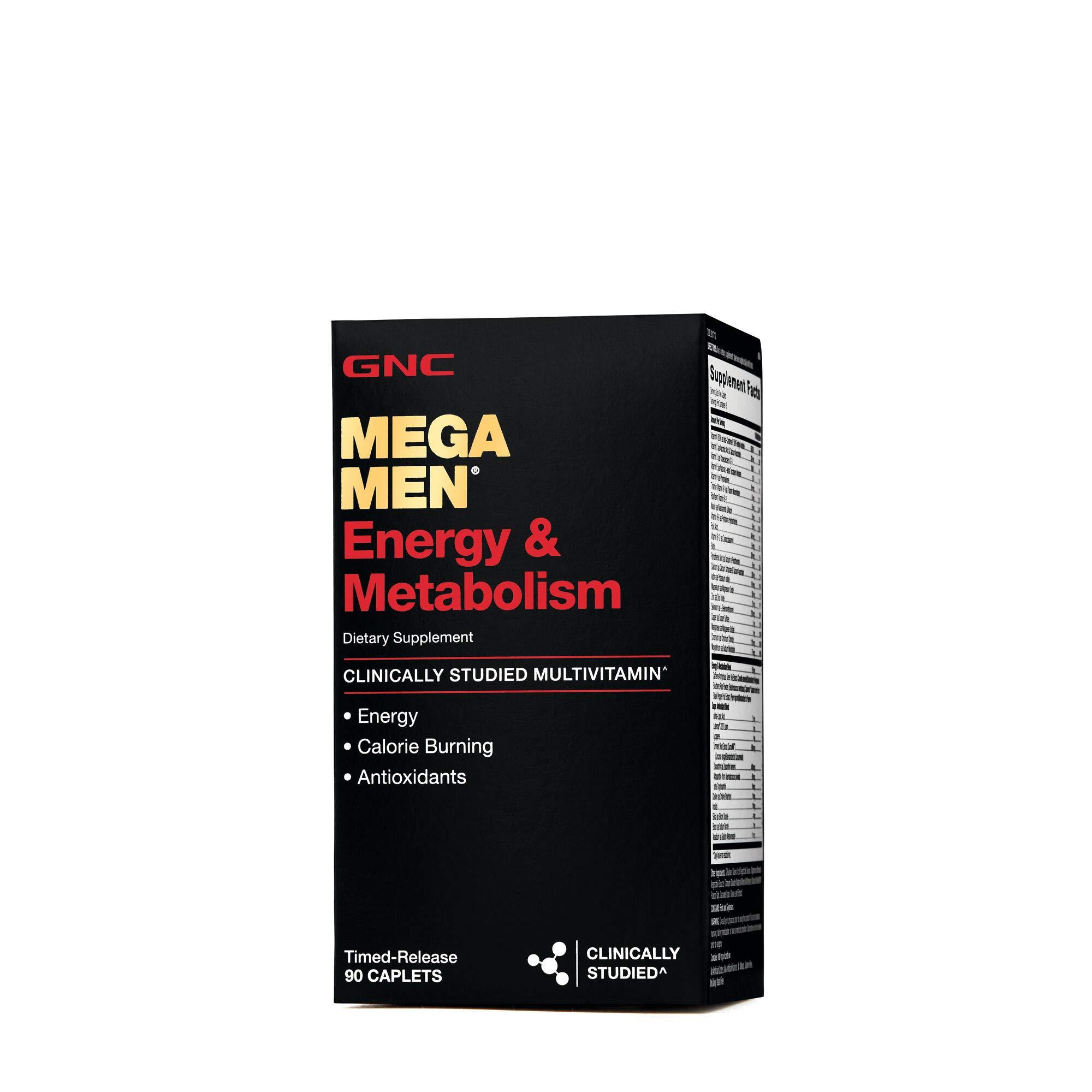 GNC Mega Energy Metabolism Caplets