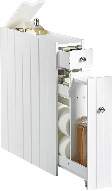 VonHaus Slimline Colonial Bathroom Cabinet