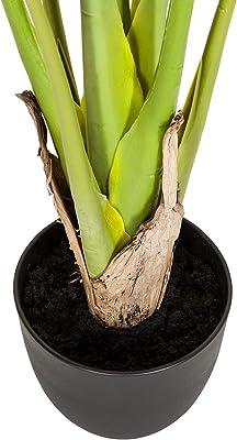 hjh OFFICE Planta Artificial Philo Philodendron Altura 120 cm Verde 10 Hojas Amigos Árbol Habitación Planta Decorativa Artificial 871006