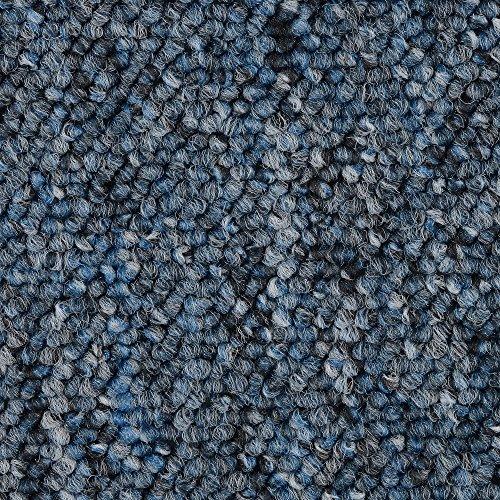 BODENMEISTER BM72392 Teppichboden Auslegware Meterware Schlinge blau 400 und 500 cm breit, verschiedene Längen, Variante: 2 x 5 m