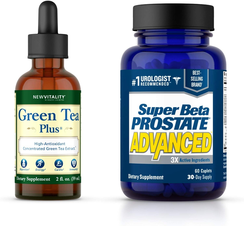 Super Beta Prostate New mail order Advanced Supplement for Popular standard Green Men +