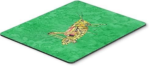 Caroline's Treasures Grasshopper on Green Mouse Pad/Hot Pad/Trivet (8849MP)