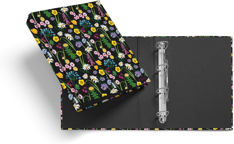 Miquel List price Rius Max 41% OFF 14875 4 Ring mm Flowers 40 Binder Wild