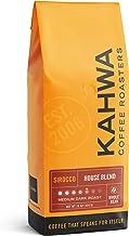 Kahwa Coffee Sirocco Medium Dark Roast House Blend, Whole Bean Coffee, 1 lb Bag