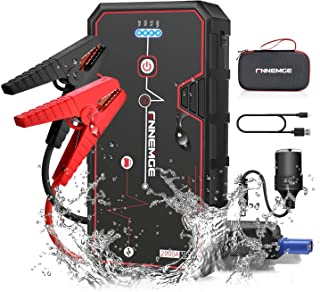 FNNMEGE 2000A Peak 21800mAh 12V Super Safe Car Jump Starter with USB Quick Charge 3.0 (Up to 8.0L Gas or 6.5L Diesel Engin...