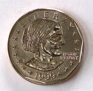1999 Susan B. Anthony Gem BU (D) Dollar
